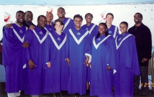 Thomas with CUGC (I'm on the first row, second from the left)